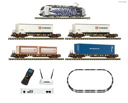 Picture of Fleischmann 931891 N z21 Digitalset: Elektrolokomotive BR 193 mit Güterzug Digital mit Sound Lokomotion Epoche 6 | Startpackungen Spur N digital