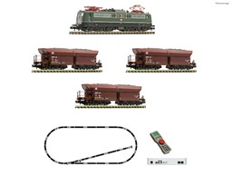 Picture of Fleischmann 931896 N z21 start Digitalset: Elektrolokomotive BR 151 mit Güterzug DB, DC , Epoche 4 | Startpackungen Spur N digital