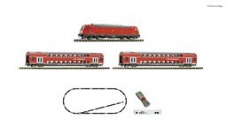Picture of Fleischmann 931897 N z21 start Digitalset: Diesellokomotive BR 245 mit Personenzug DB-AG, Digital DCC , Epoche 6 | Startpackungen Spur N digital